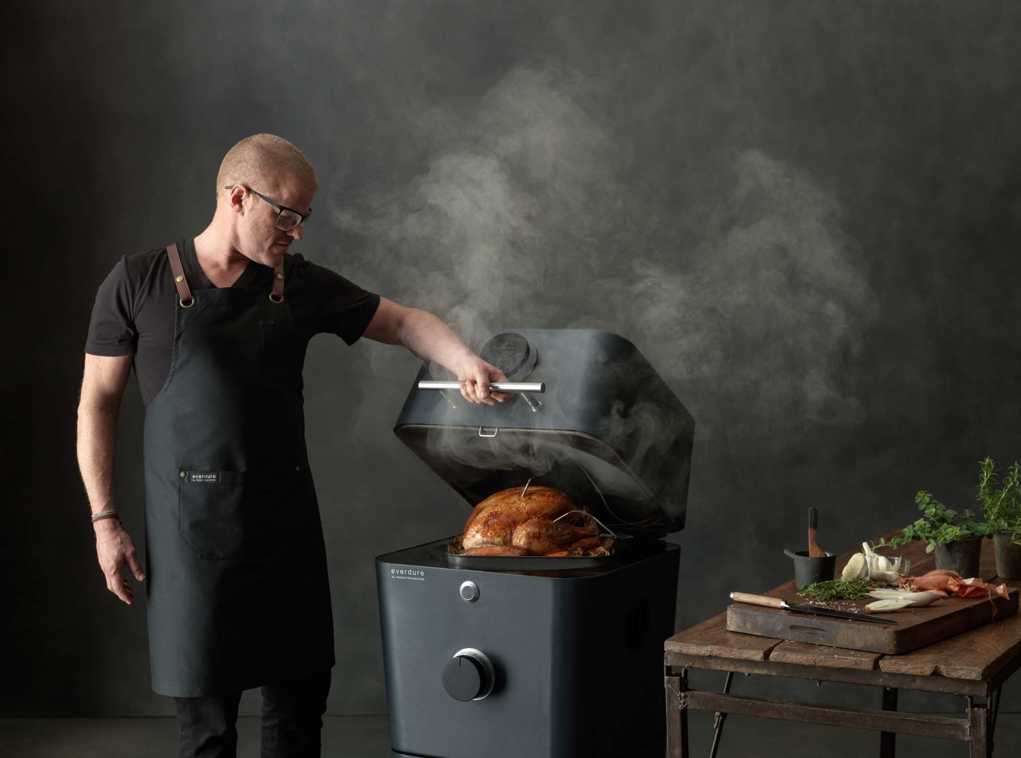 Everdure 4K workshop heston blumenthal
